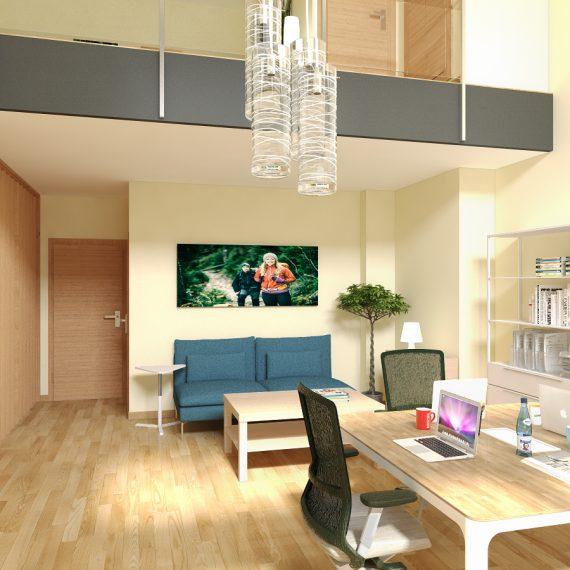 Diseño de interiores para oficinas. Interiorismo para ...