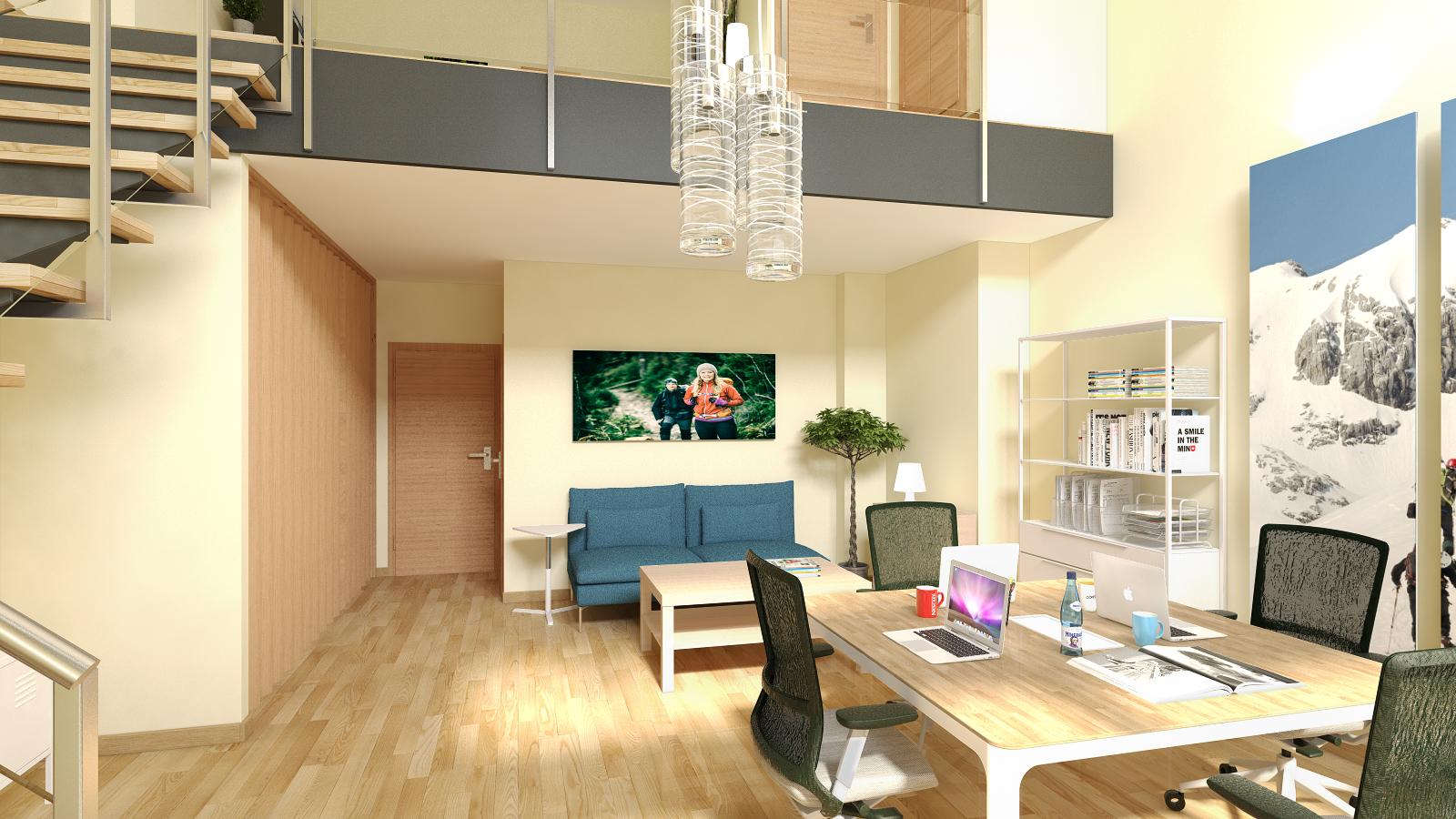 Diseño de interiores para oficinas. Interiorismo para negocios en ...